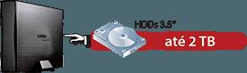 Insira o HDD SATA (não incluso) no Case USB 3.0